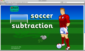 Soccer Subtraction